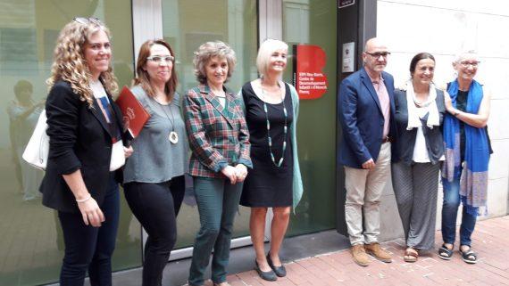 La ministra de Sanitat, Consum i Benestar Social visita el CDIAP-EIPI Nou Barris per conèixer el Model Municipal d'Atenció Precoç