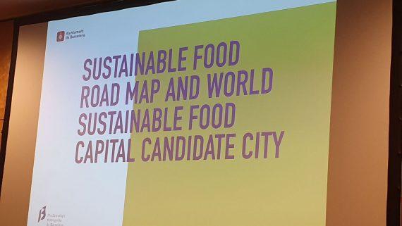 Barcelona Capital Mundial para la Alimentación Sostenible en 2021