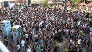 Música electrònica a la plaça Major de Nou Barris