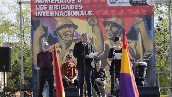 Homenatge Brigades Internacionals