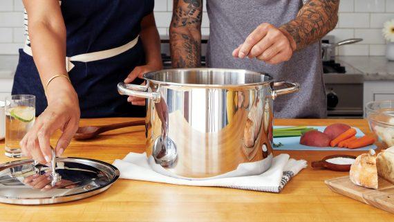 olla, classe de cuina, Institut dels Aliments de Barcelona