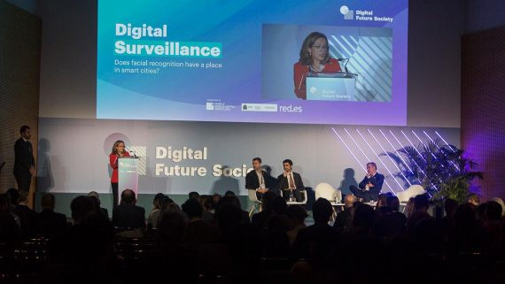 Apertura institucional de la Digital Future Society Summit