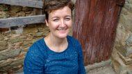 Paula Bosch, creadora del pessebre de Sant Jaume 2019