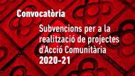 Convocatòria Subvencions AC 2020-21