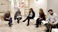 L'alcaldessa de Barcelona visita el servei d'atenció a la infància de Torre Baró