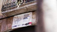 Baixos de protecció oficial, ciutat vella, cartell, carrer d'en robador