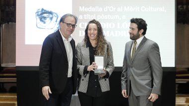 Medalla d'or, cultura, Barcelona, Claudio López de Lamadrid