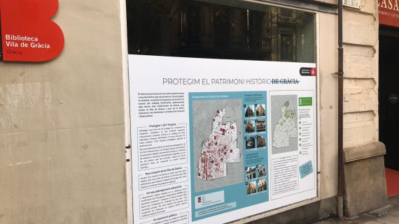Exposició patrimoni Gràcia