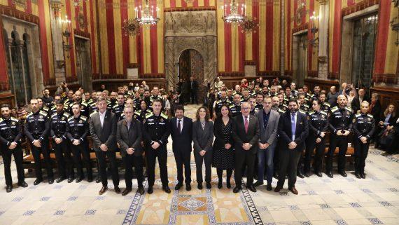 Benvinguda als 60 nous agents de la Guàrdia Urbana