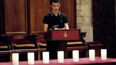 Encesa espelmes, IES Francisco de Goya, víctimes nazisme