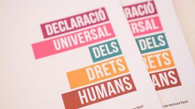 Declaració universal de drets humans, panflet