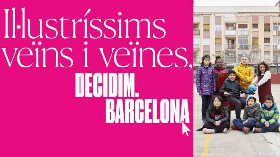 Imagen del proceso participativo de Barcelona