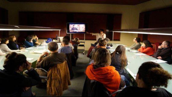 Sessión taller historia oral con Laura Benadiba
