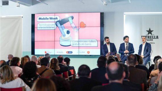 Presentació de la Mobile Week 2020