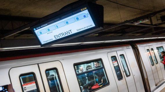 metro digitalitzacio vagons