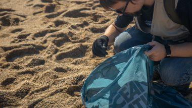 Recollida de residus a les platges