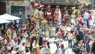 Gegants del Pi a les Festes de Sant Josep Oriol
