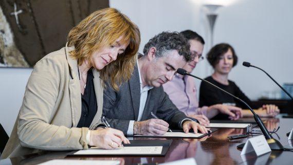 Acord sobre la Bústia Ètica amb la Generalitat
