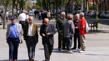 Gent gran, Barcelona
