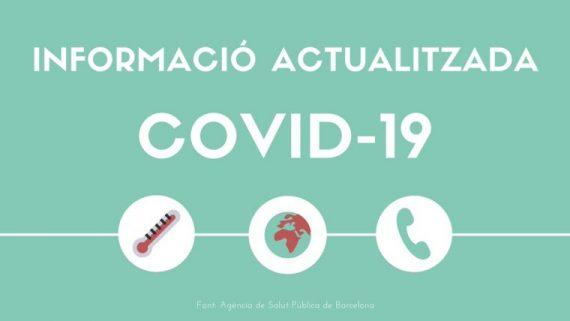 Informació actualitzada Covid-19