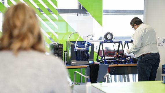 Impressores 3D. Ateneus de Fabricació