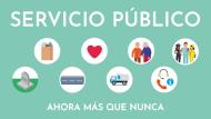 Servicio público ahora más que nunca