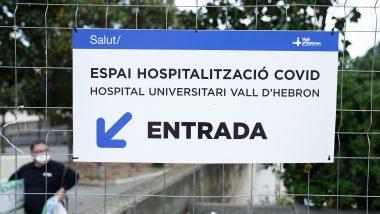 Pavelló salut, Hospital Universitari Vall d'Hebron, Covid-19, salut, sanitat