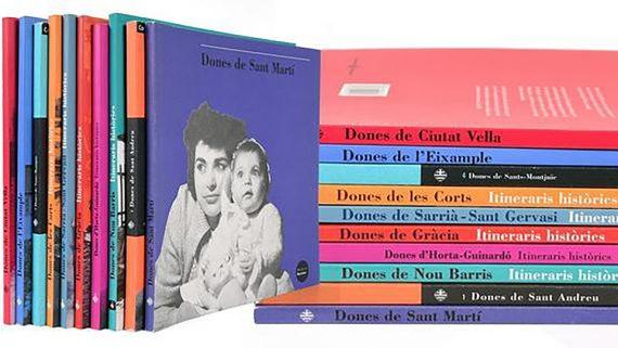 Col·lecció de llibres 'Dones de...' Itineraris històrics