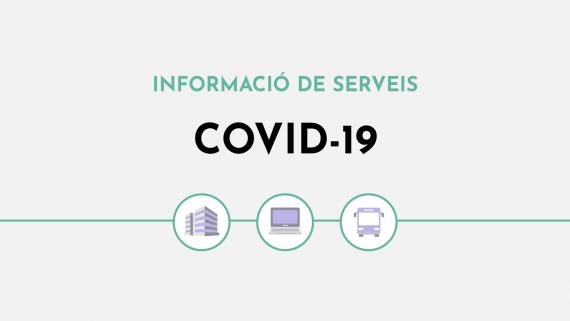 Informació de serveis Covid-19