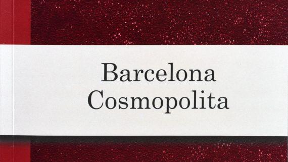 Coberta del llibre 'Barcelona Cosmopolita'