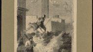 Gràcia. Un épisode de la lutte [Rebombori de les quintes, 1870. AHCB04424