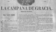 La Campana de Gràcia, núm. 1, 8 de maig de 1870