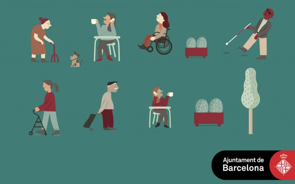 Pictogrames sobre accessibilitat als comerços