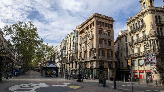 Barcelona Confinada. Ciutat Vella, Covid-19, coronavirus, confinament