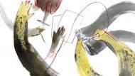 Il·lustració d'inici de capítol: Braços cosint, fils, teles, pantalons. © Berta Aguilar