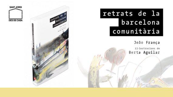 Imatge de la coberta del llibre 'Retrats de la Barcelona comunitària. Il·lustració © Berta Aguilar
