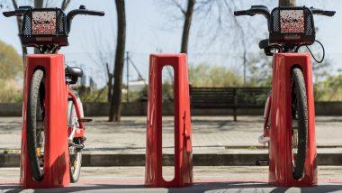 estació bicing, bicicletes, covid-19