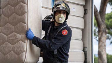 Imatges Barcelona, Covid-19, serveis essencials, Bombers de Barcelona