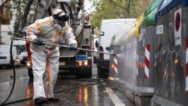 Imatges Barcelona, Covid-19, serveis essencials, neteja, servei de neteja, desinfecció