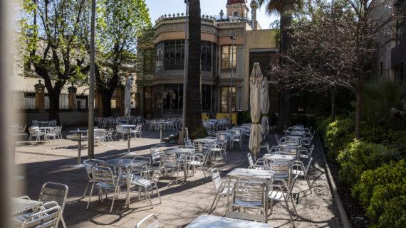 Barcelona Confinada. Les Corts i Diagonal