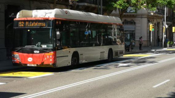 Nou carril bici-bus a Sants-Creu Coberta