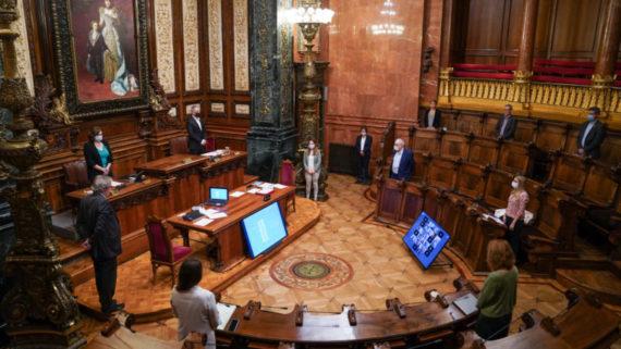 Ple del Consell Municipal del 28 de maig