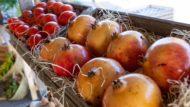 Comerç, fruita, mercat, parada, Barcelona