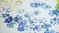 100% estiu, pintura, mans, infants