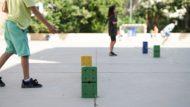 joc, jugar, pilota, casal estiu, estiu 100%