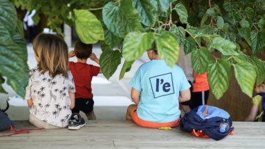 infants, nens i nenes, pati escola, casal estiu, estiu 100%