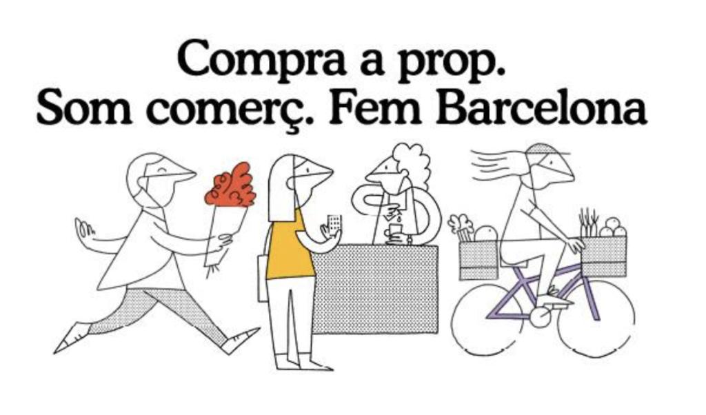 Compra a prop. Som comerç. Fem Barcelona.