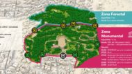 mapa Park Güell