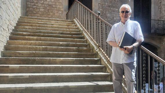 Albert Garcia Espuche, autor del llibre 'La gent del carrer Montcada'.