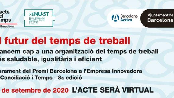 """Jornada Virtual """"El futur del temps de treball"""""""